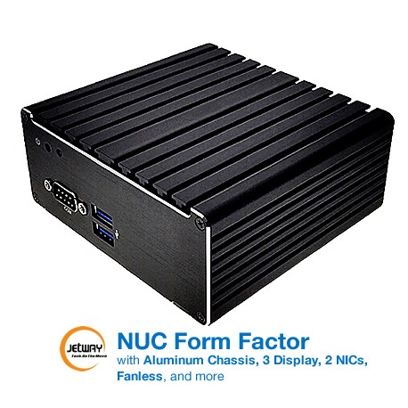 Mini PC fanless JBC313U591-3150B