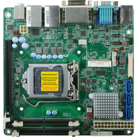 Carte mère industrielle Mini ITX SD100-H110N