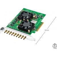 Carte PCIe d'acquisition et de lecture à 8 canaux - DeckLink Quad 2