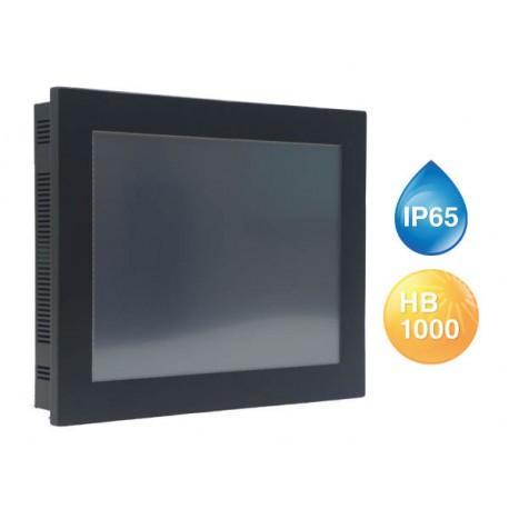 "Panel PC tactile 12,1"" LPC-121S-01"