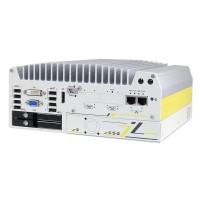PC EN 50155 avec cassette d'extension PCIe - Nuvo-7204VTC