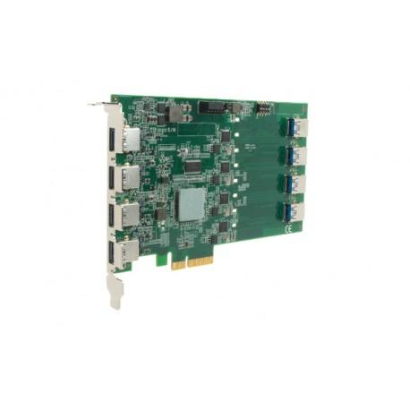 Carte 8 Ports USB PCIe-USB380