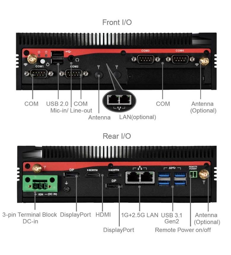 PC industriel ARM NXP pour IoT ME1-108T