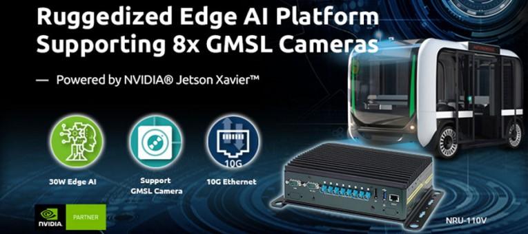 PC NRU-110V de Neousys Jetson AGX Xavier pour caméras GMSL